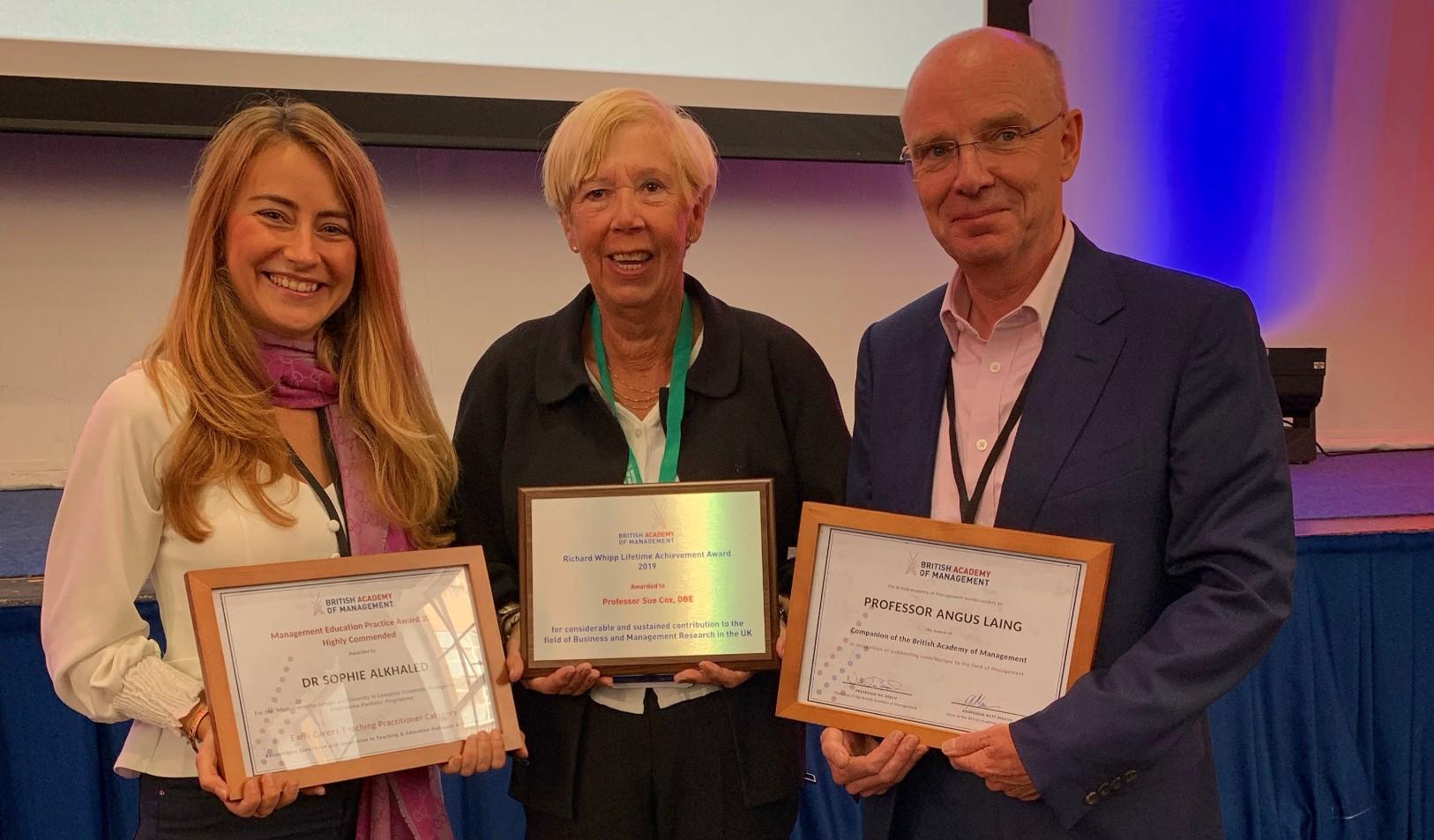 Lifetime achievement award for Lancaster University