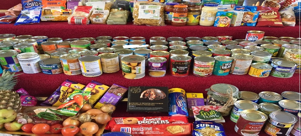 Lancaster University Food Bank Collection Furness Tuesday