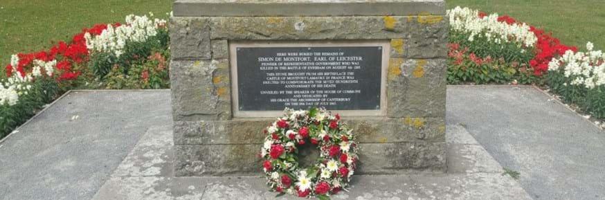 de Montfort memorial