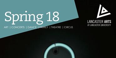 Lancaster Arts Spring Brochure Design
