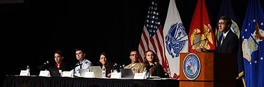 Karena Kyne attends the Strategic Command Deterrence Symposium