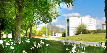 Campus in Spring - The Lancaster Exchange