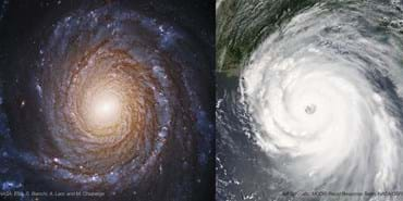 Black Holes, Exoplanets and Hurricanes