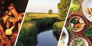 Phosphorus discovery, in rivers, in food