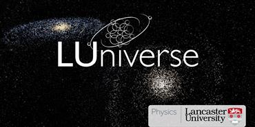LUniverse and university logos in planetarium