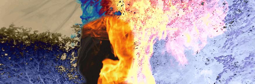 The Shadow Firehead: Still from film.