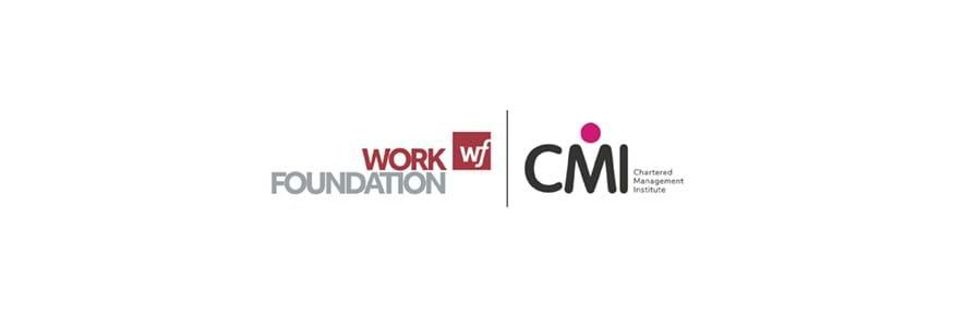 Work Foundation and CMI logos
