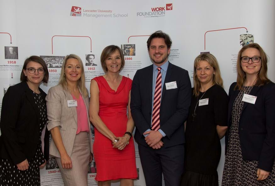 The Work Foundation team at their centenary event