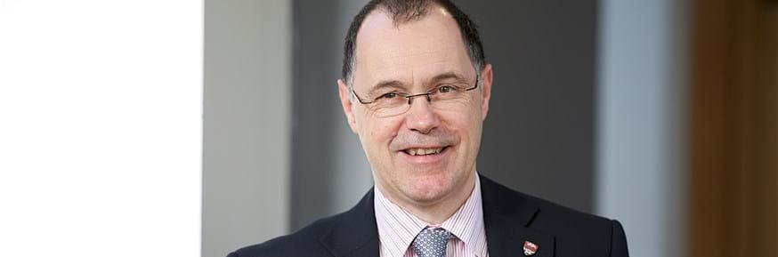 Lancaster University Vice Chancellor Professor Mark E Smith