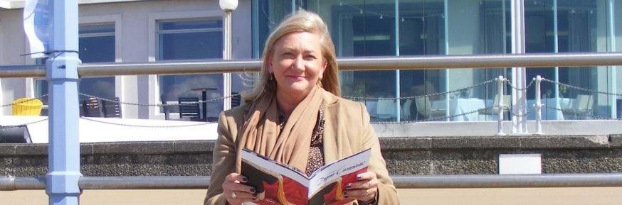 Sandra Wearden and her book