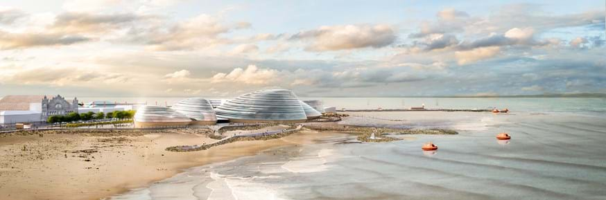 Artist's impressions of Eden Project North.