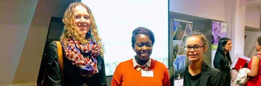 Students from Lancaster University visit the 2017 Women's Engineering Society Student Conference.
