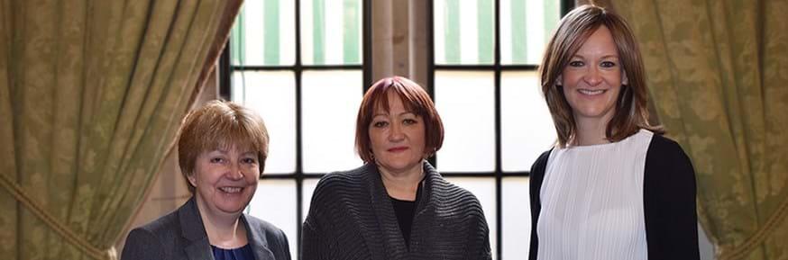 Linda Hendry, Kerry McCarthy MP and Gail Orton
