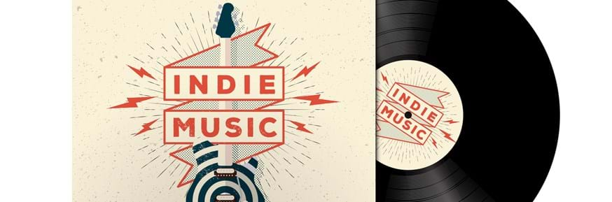 A records cover labelled 'Indie Music'