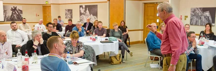 Cumbria Forum delegates take part in a workshop