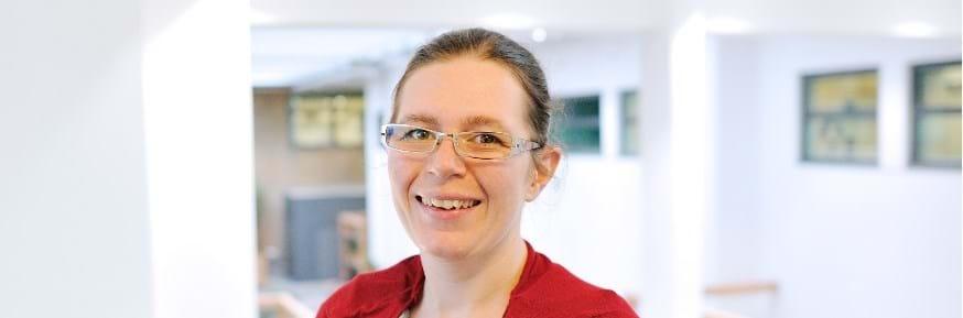 Prizewinning graduate Jennifer Davies