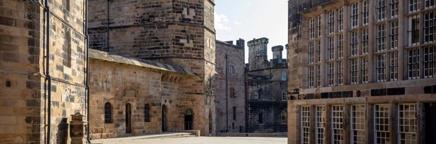 The newly-renovated Lancaster Castle, where Lancaster University will have a presence from 2020