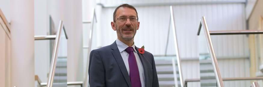 Magnus George from Lancaster University Management School