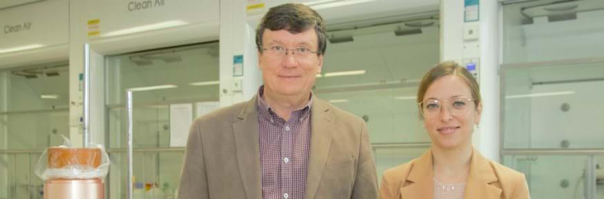 Professor Oleg Kolosov and Dr Nuria Tapia-Ruiz