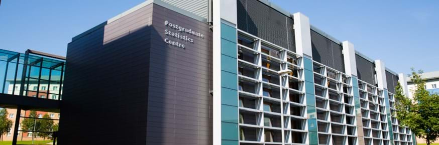 Photo of Postgraduate Statistics Building, Lancaster University