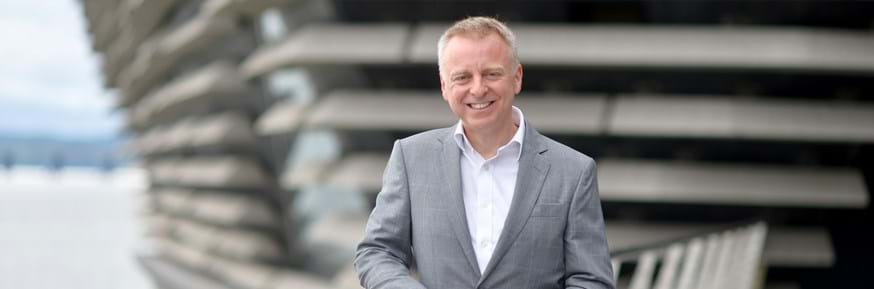 Philip Long, Director of the V&A, Dundee