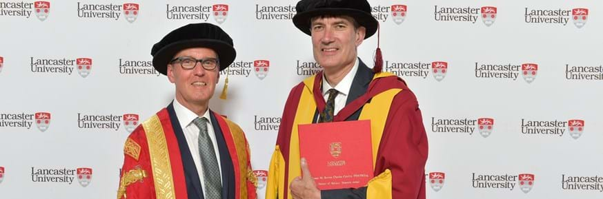 Professor Sir Steven Cowley has been awarded an honorary degree of Doctor of Science by the Chancellor the Rt Hon Alan Milburn at the July graduation ceremonies.