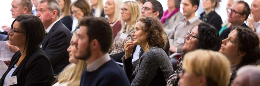 Delegates at the recent Health Innovation Campus Re-imagining Health and Wellbeing event
