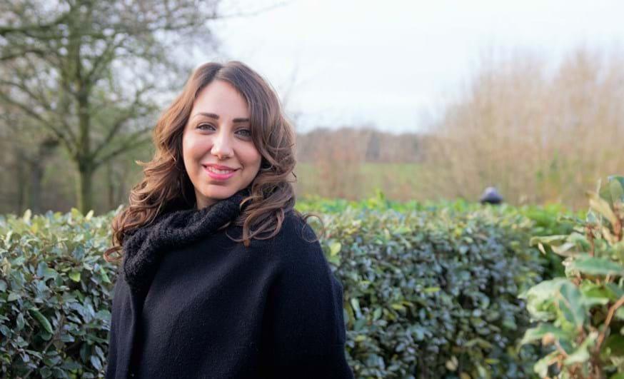 Lancaster University Alumni Award winner Sanaa Alsarghali