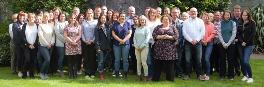 Apprentices taking part in the Senior Leader Degree Apprenticeship Programme