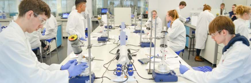 Science and Technology Taster Days give an insight into studying at a top university