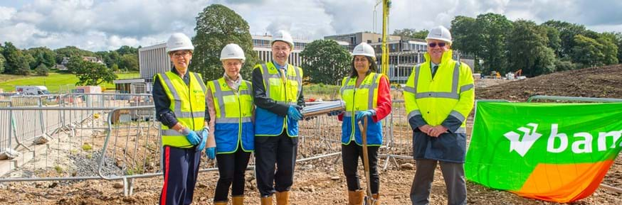 A time capsule dedication has taken place at Lancaster University's Health Innovation Campus, ahead of its installation in the foundations of the new £41m building.