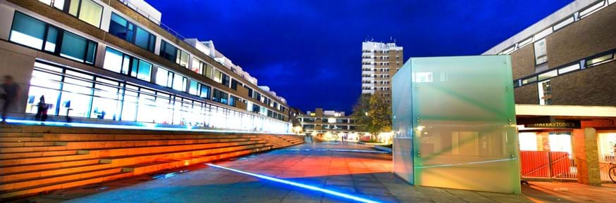 Alexandra Square at Lancaster University