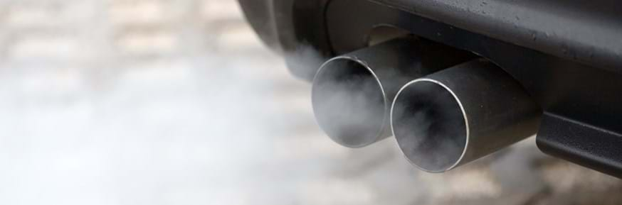 A car exhaust and emissions