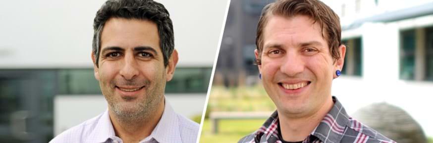 Dr Ben Neimark and Dr Patrick Bigger