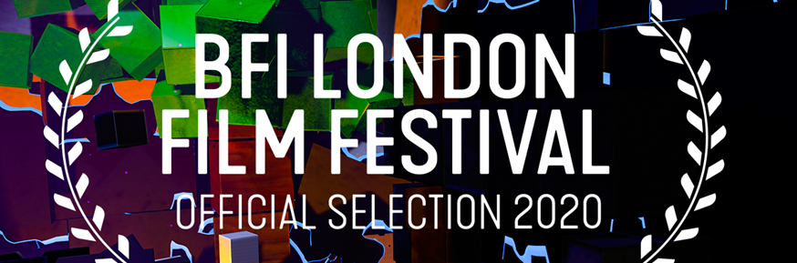 BFI London Film Festival Official Selection 2020 logo image.