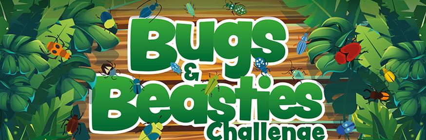 Bugs and Beasties challenge artwork