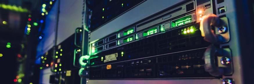 A server in a data centre