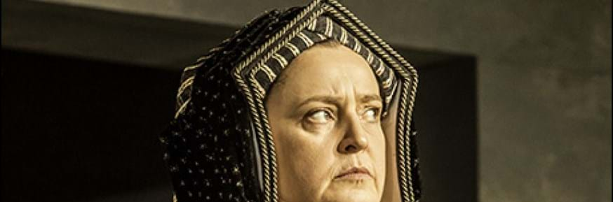Lucy Briers in Wolf Hall