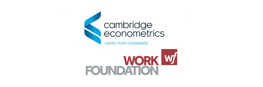 Cambridge Econometrics and The Work Foundation logos