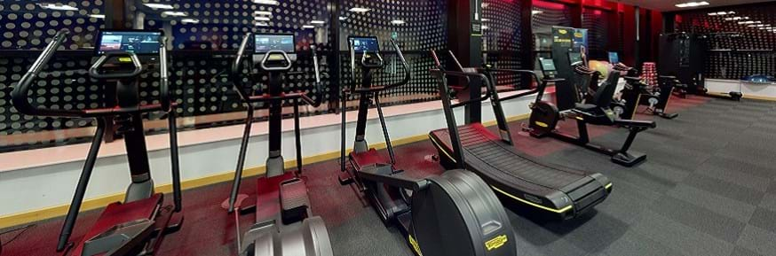Picture of gym equipment