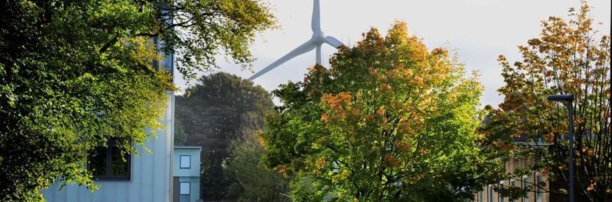 Lancaster University Wind Turbine
