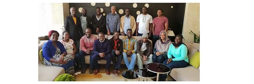 Staff at the Kenya Medical Research Institute