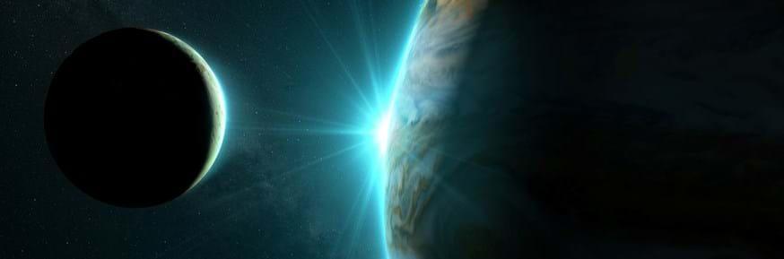 Jupiter and moon Io