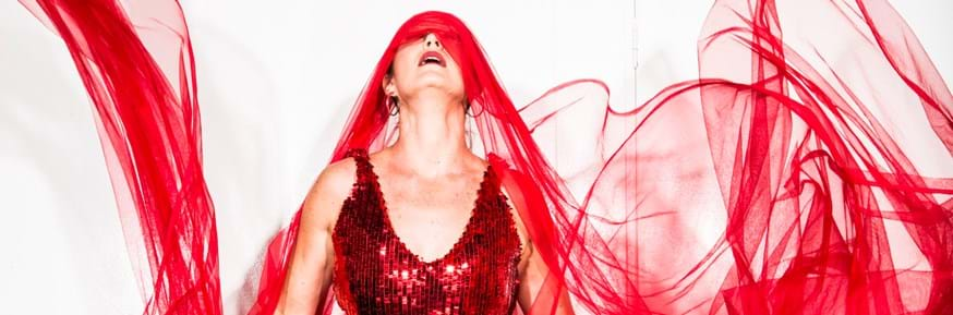 Liz Lea's 'Red',  a powerful one-woman dance theatre show, can be seen on February 19 at the Nuffield Theatre