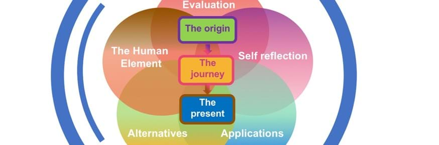 A visual representation of the 'decolonisation tool'