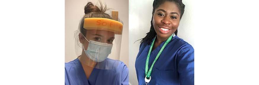 Dr Sophie England and Dr Emmanuella Adu-Peprah