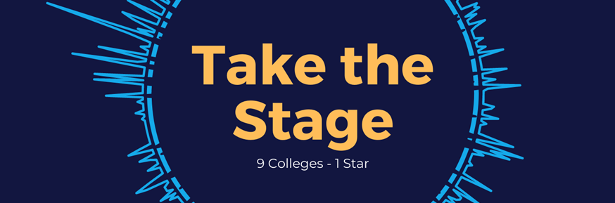 Take the stage logo